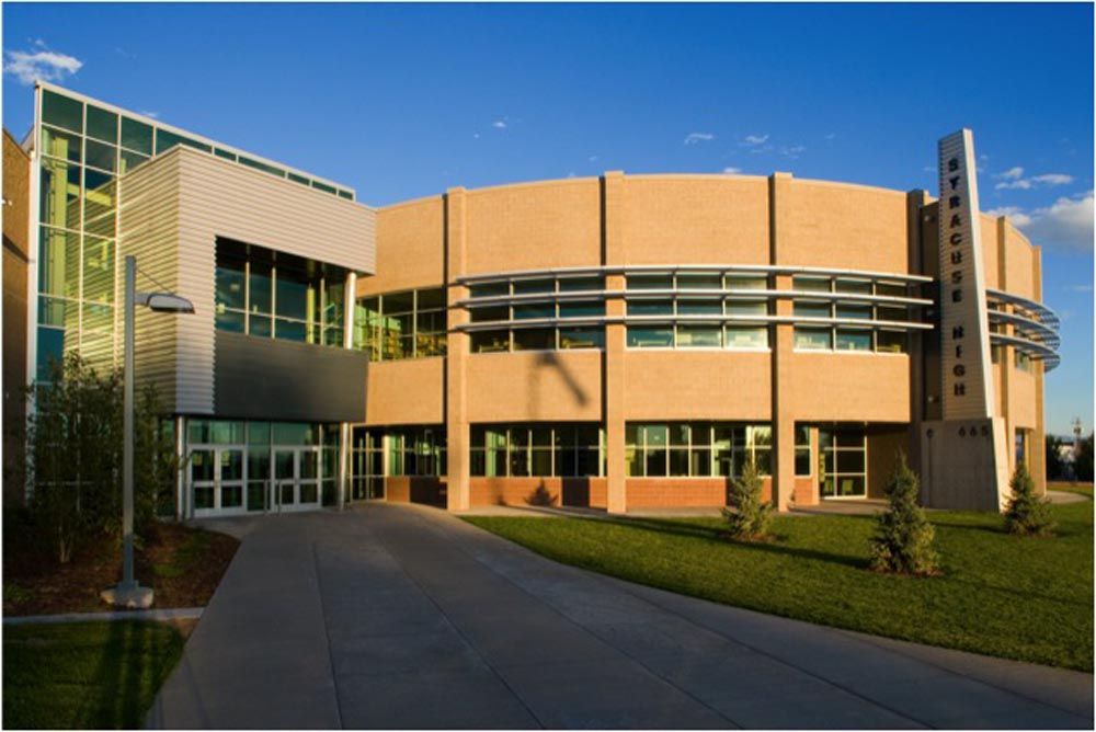 SYRACUSE HIGH SCHOOL FRONT